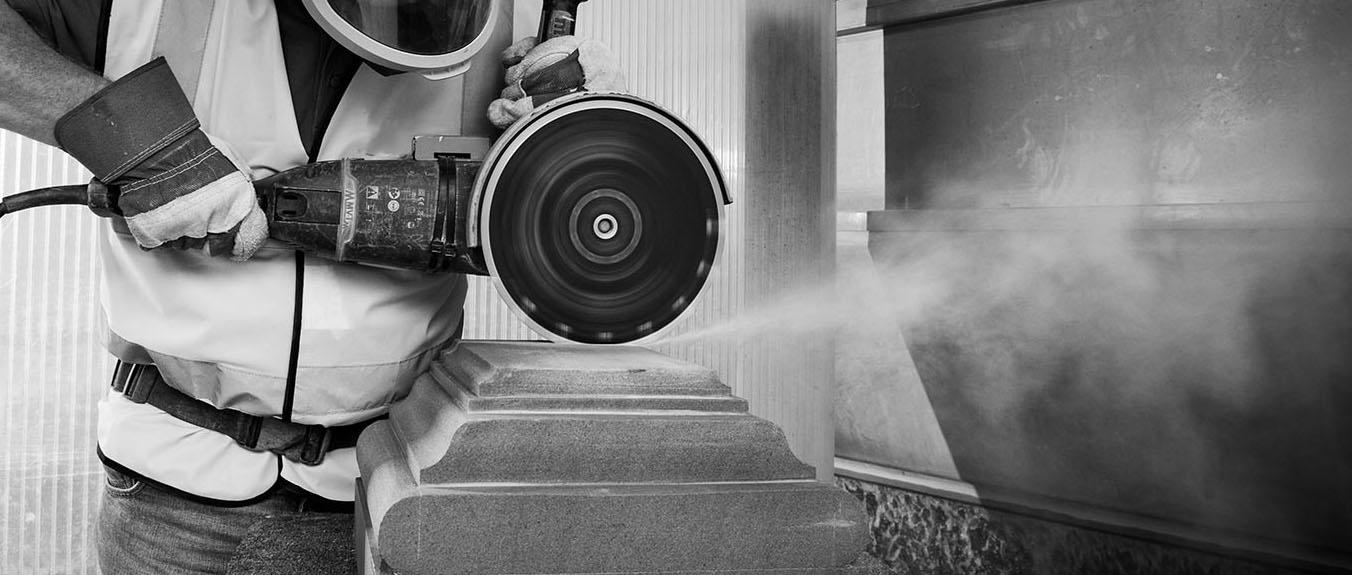 stonemasonry dust